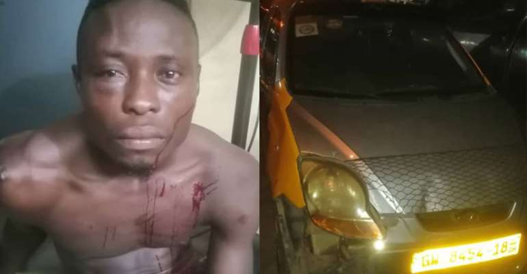Suspect, Kwame Eric and the snatched vehicle