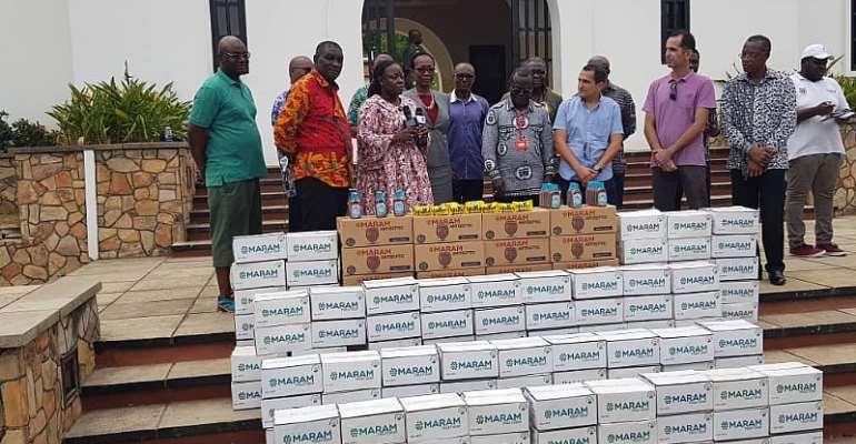 Coronavirus Prevention: University Of GhanaGets Support From Delta Agro Limited