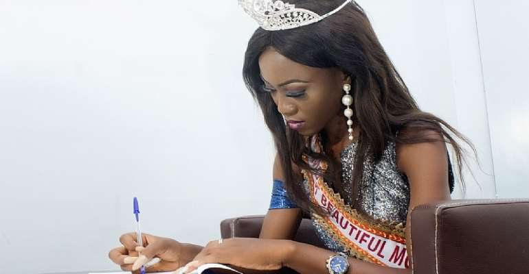 22 years old Miss Nwakaego from Delta state, Nigeria has emerged winner of Most Beautiful Model in Africa.