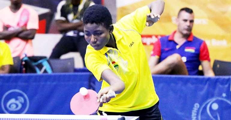 Matilda Fodu flourishes, Natural Sportswoman