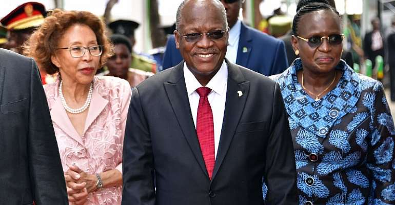 Tanzania's former 1st Lady says his late husband President Magufuli loved morning sex