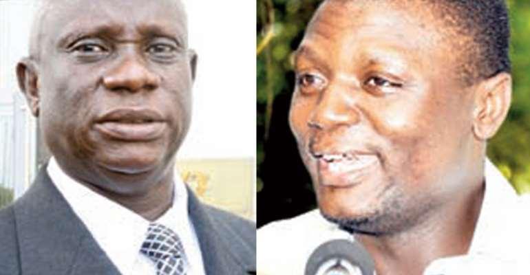 Obiri Boahen (left), Kofi Adams (right)
