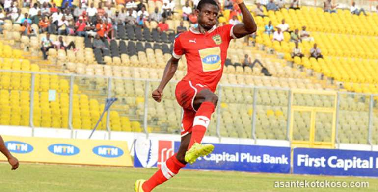 """Asante Kotoko to appeal Ahmed Adams yellow card after """"dubious"""" penalty claim"""