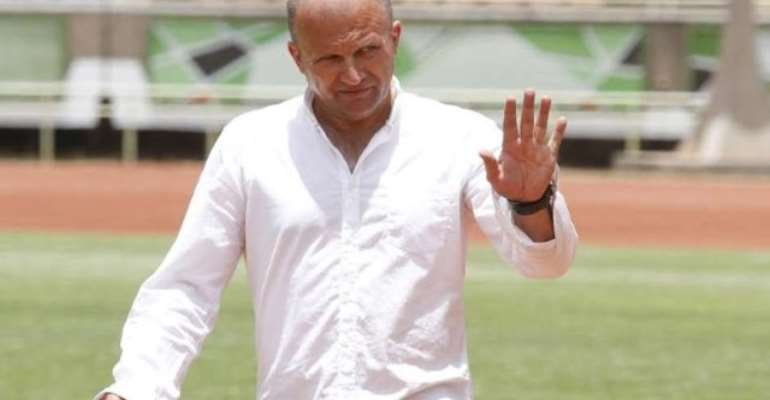 Kotoko coach leaves for Croatia after Hearts defeat