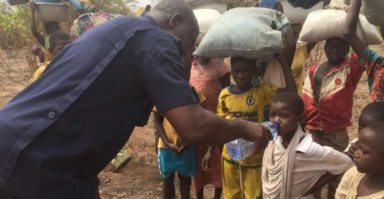 Chereponi: Over 2,000 People Displaced