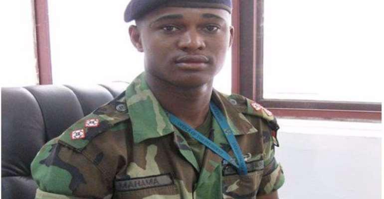 The late Major Maxwell Mahama
