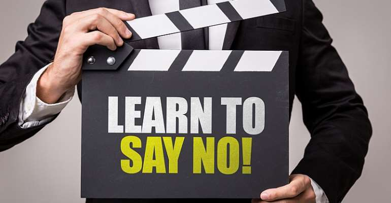 Don't Give Out All Your Pizza Slice, Learn To Say No!