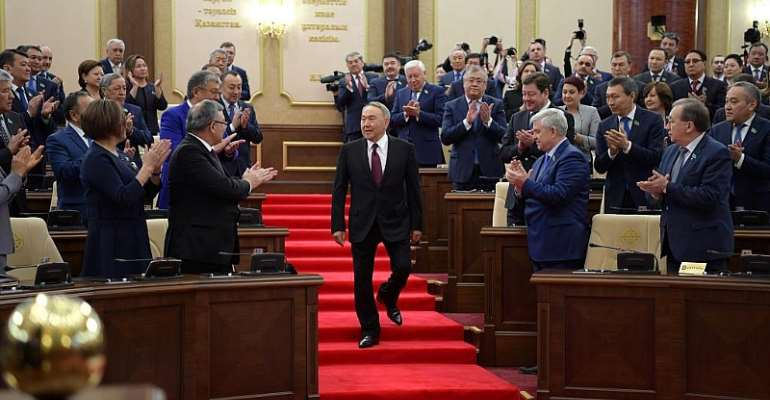 Kazakh Presidential Press Service/Handout via REUTERS