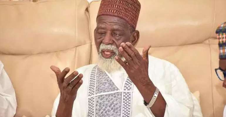 National Chief Imam Sheikh Osman Nuhu Sharubutu
