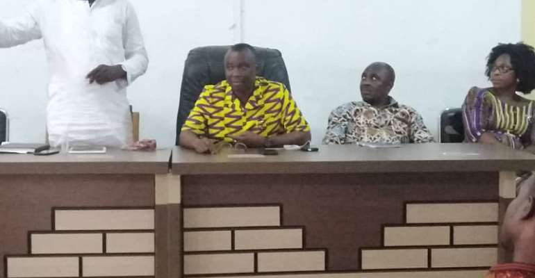 East Gonja Municipal Assembly Meet Stakeholders Over COVID-19