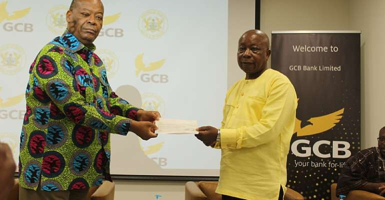 GCB Bank Gives 100k Towards COVID-19 Fight