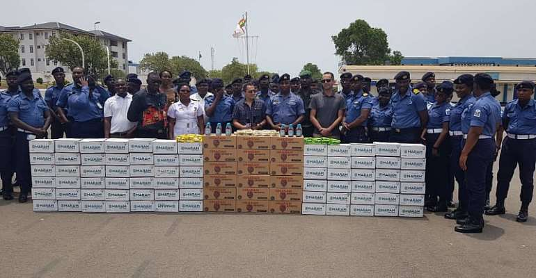 Ghana Navy Gets Support From Delta Agro Limited To Fight Coronavirus