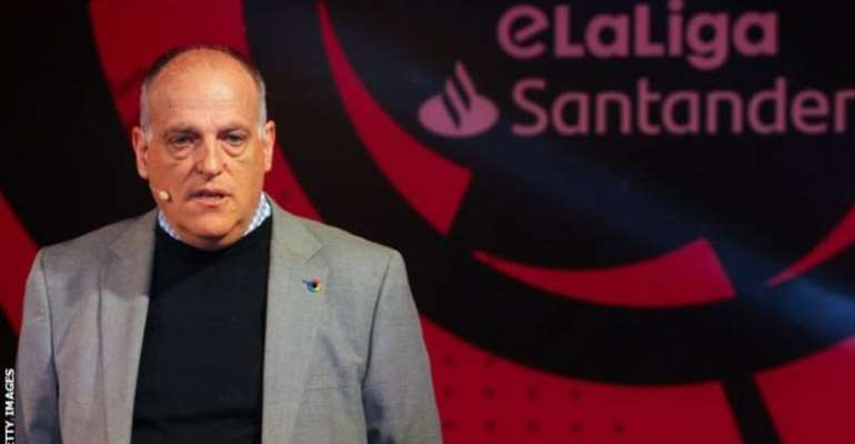 La Liga president Javier Tebas is confident all of this season's domestic football competitions will be completed