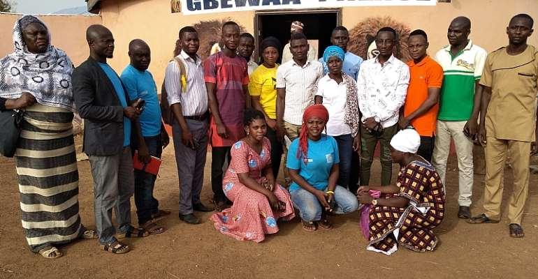 Yendi Youth Parliament Pays A Courtesy Call On Yaa Naa Abukari Mahama II