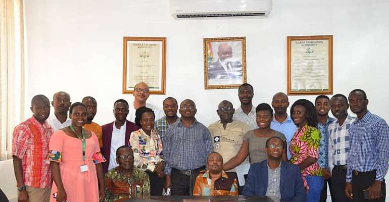 GSA Interacts With KNUST Public Health Students