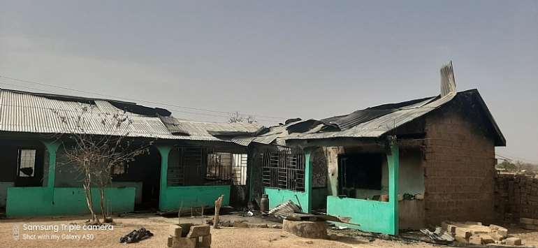 Immigration officer's residence razed down by fire in Zebilla