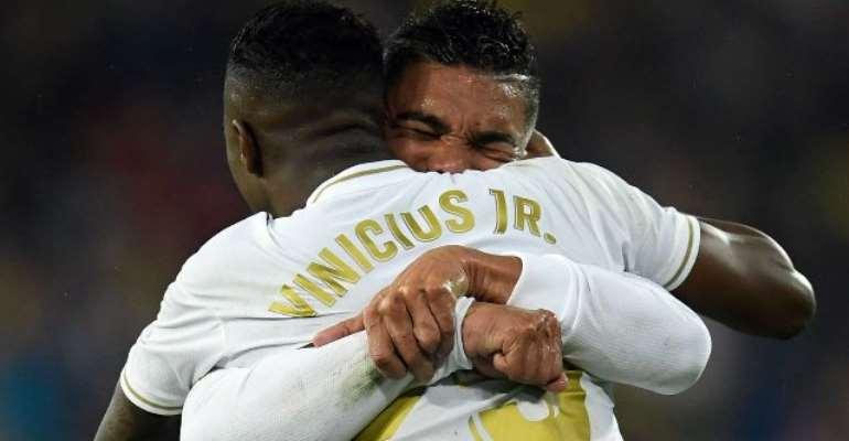 Vinicius Jr Breaks Messi's Record With Crucial El Clasico Goal