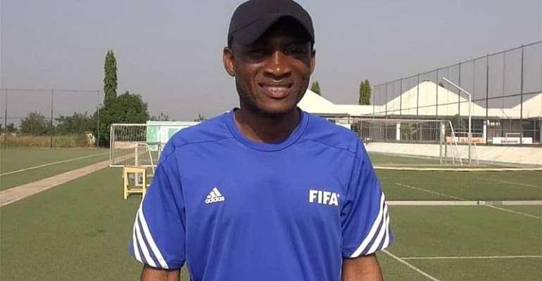 WAFA head coach Prosper Nartey