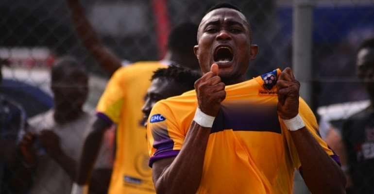 Medeama SC 1-0 Great Olympics: Prince Opoku's Strike Seals Win For Yellow And Mauves