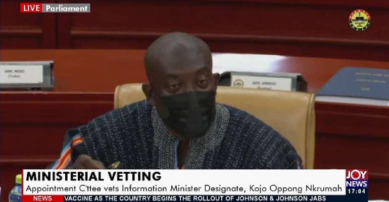 Why NDC reject Kojo Oppong Nkrumah, Hawa Koomson and Akoto Afriyie