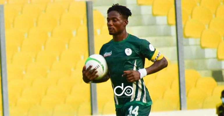 King Faisal striker Kwame Pepreh