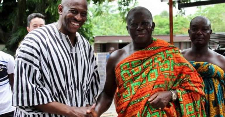 Ignore vaccine conspiracy theories; The great Otumfuo is taking a jab—Herbert Mensah tells Ghanaians