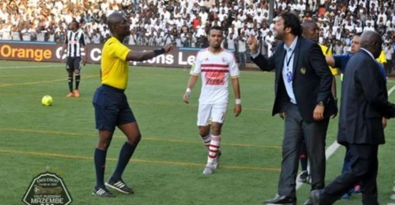 African football will not move forward with referees like Lamptey- Hossam Mido