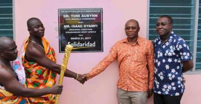 Solidaridad sends health care to Ekorso Community