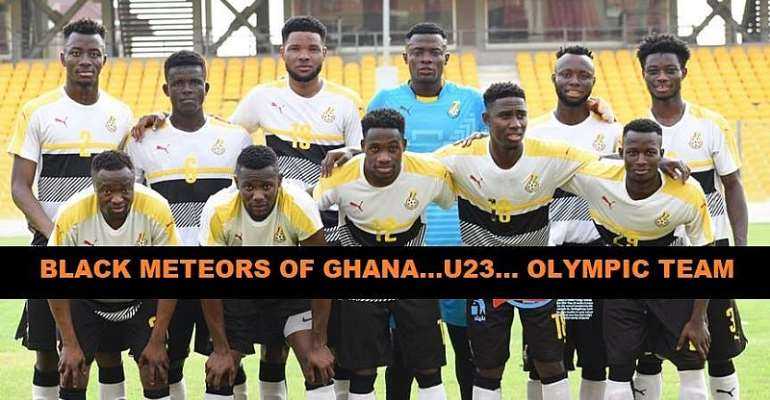 Support The Black Meteors To Qualify To Japan 2020 – GOC President