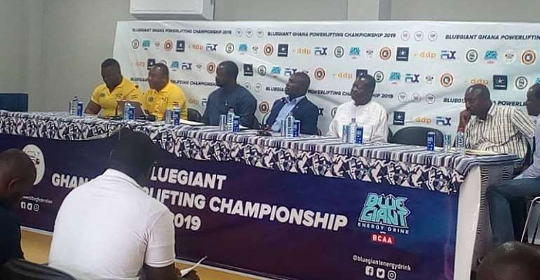 Blue Giant Ghana PowerLifting Championship slated For April