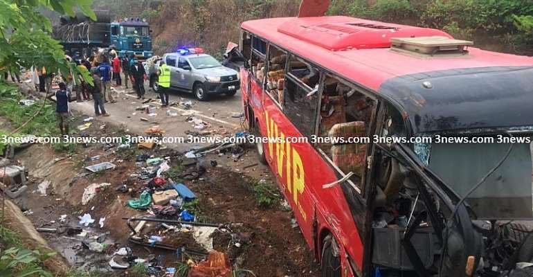 Scores Burnt Alive In Gory Kintampo Accident