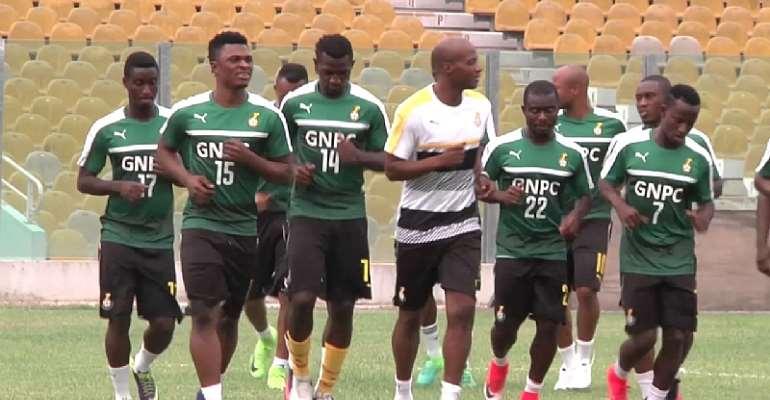 Ibrahim Tanko training his team