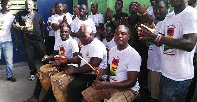 Ghana Boxing Supporters Union (GBSU) Wish Black Stars And Black Meteors Victory in Double Header