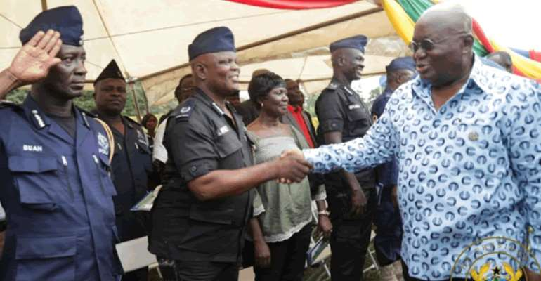 Akufo-Addo Charges Police To Implement Ebony Committee Report