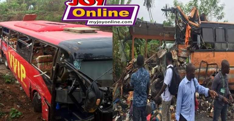 The major cause of road accidents in Ghana is due to excessivespeeding.