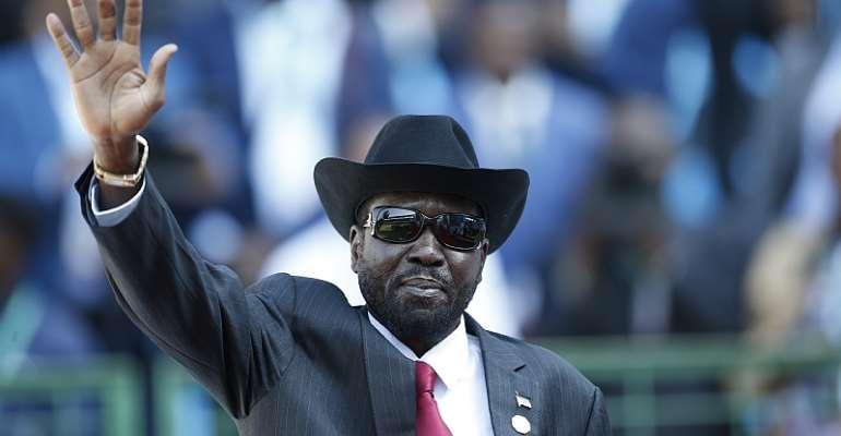 South Sudan President Salva Kiir  - Source: Siphiwe Sibeko/EPA-EFE