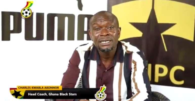 Ghana Coach CK Akonnor, Players Campaign Against COVID-19 Spread