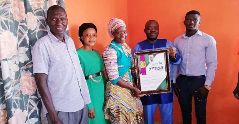Dr. David F. Abdulai Choggu  Honoured In Tamale