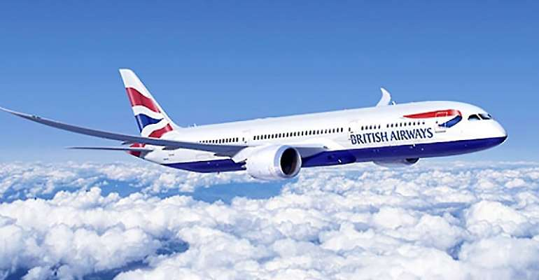 British Airways moves Accra-London flights from Heathrow to Gatwick