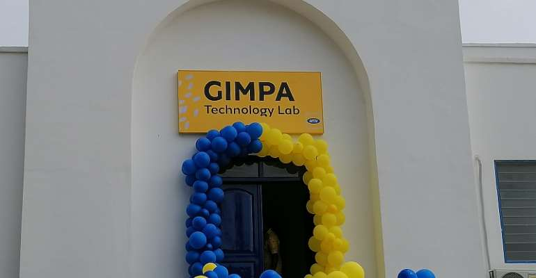 MTN Foundation hands over Ghc750,000 ICT lab to GIMPA