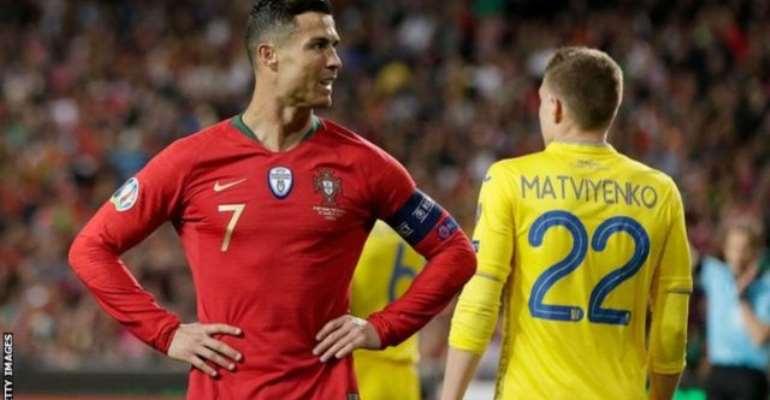 Portugal Draw Blank Against Ukraine On Ronaldo's Return