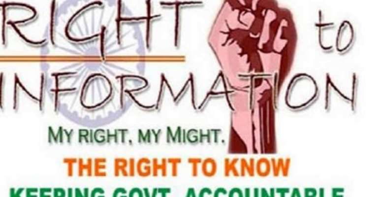 RTI Bill To Be Passed On Tuesday