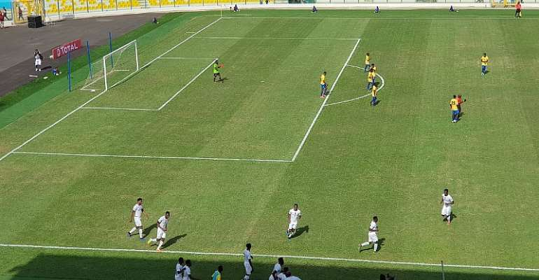 AFCON U23 QUALIFIER: Ghana Survives Early Scare to Beat Gabon 4-0