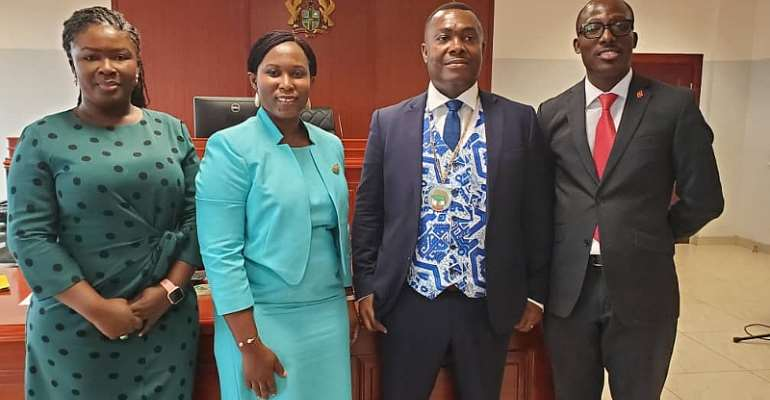 IPR Ghana Swears In New Executives