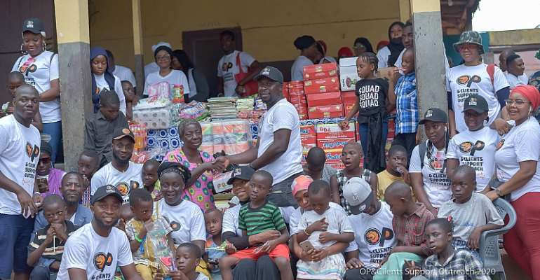 Thoughts Of A Nima Boy: We All Can Give Of Ourselves; OP Studios Shows The Way At Rising Star Orphanage, Dodowa