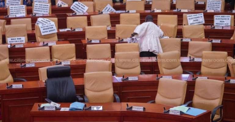 Minority Stage Walkout On Monday Sitting Over Speaker's Illegality