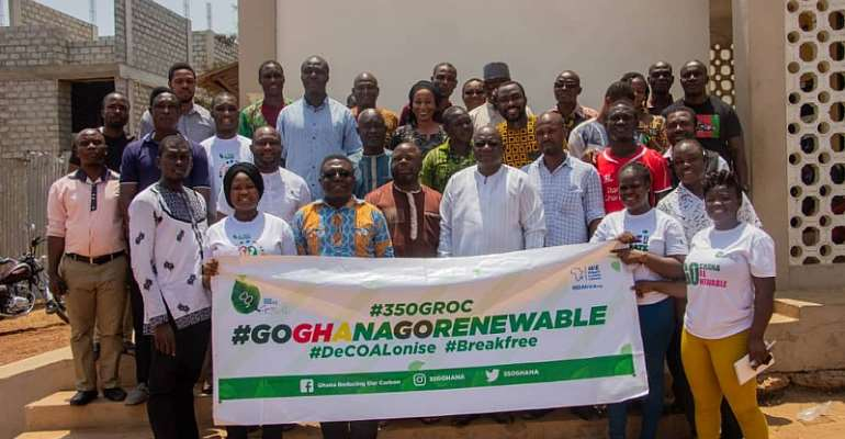350 GROC Trains Assembly Members Of Ashaiman Municipal Assembly On Renewable Energy