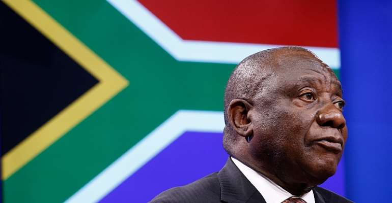 South Africa's President Cyril Ramaphosa. - Source: Shutterstock