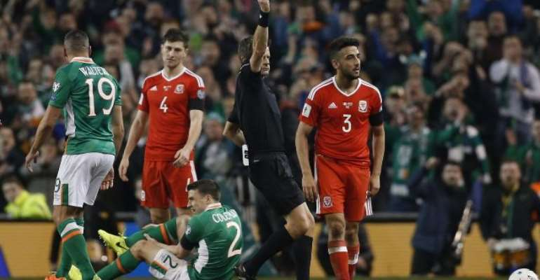 Seamus Coleman suffers horror leg break as Ireland and Wales play out stalemate