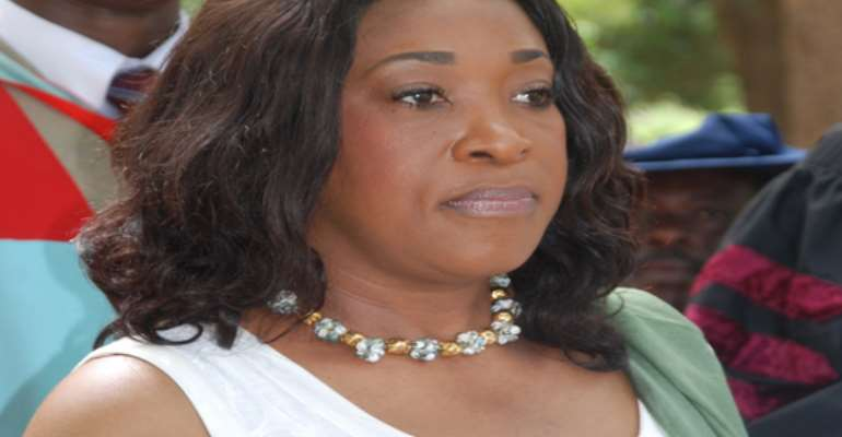 Foreign Affairs minister Shirley Ayorkor Botchwey